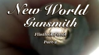 Building a flintlock pistol from scratch- Part 2 Making a smooth bore out of a rifled barrel