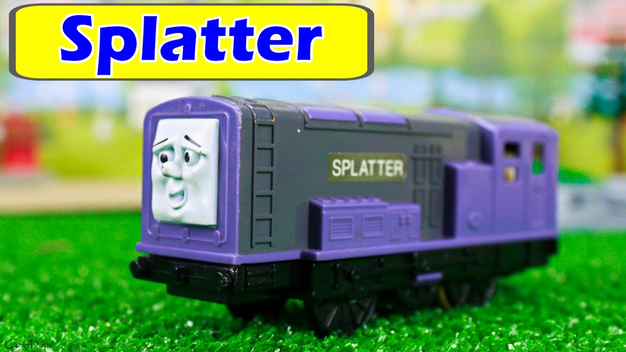 Thomas And Friends Tomy Trackmaster Splatter New Engine In Our Toy