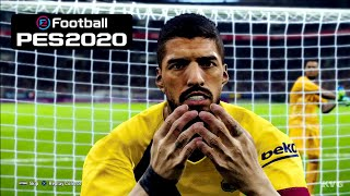 PES 2020 1st GAMEPLAY with English Commentary!