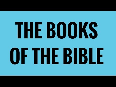 Sing The Books Of The Bible