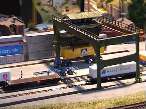 Kansainvälinen pienoisrautatienäyttely München 2001   osa 1