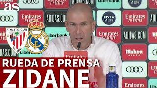 ATHLETIC - REAL MADRID | Rueda de prensa de ZIDANE | Diario AS