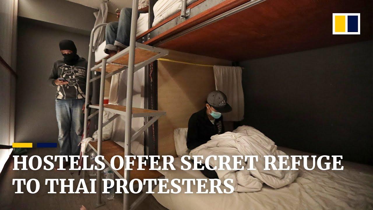 Hostels in Bangkok offer secret refuge to Thai protesters