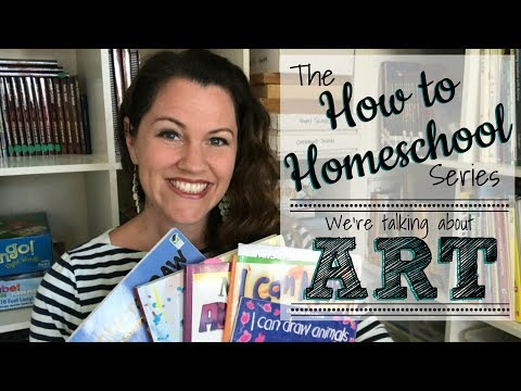 "HOW TO HOMESCHOOL ART!: Join my fun ""How To"" Series!"