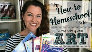 """HOW TO HOMESCHOOL ART!: Join my fun """"How To"""" Series!"""
