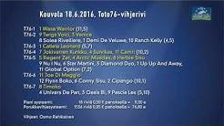 Vihjeet - Toto76 Kymi Grix Prix 2016