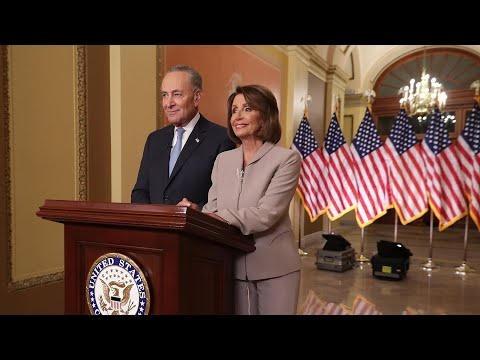 Pelosi, Schumer discuss shutdown