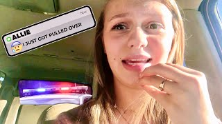 Telling My DAD That I Got Pulled Over By A COP!