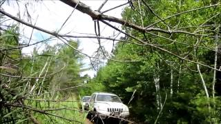 jeep wk wj off roading at its best