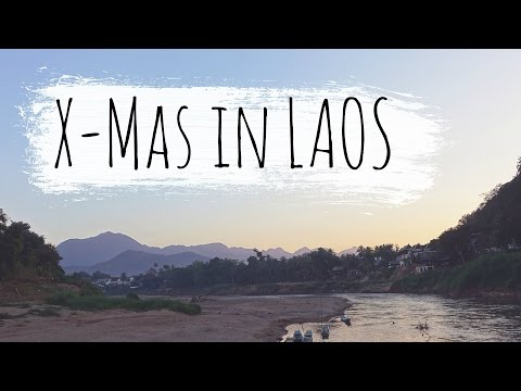 30 degrees and HOT!!! - Our VEGAN Christmas Dinner in LAOS