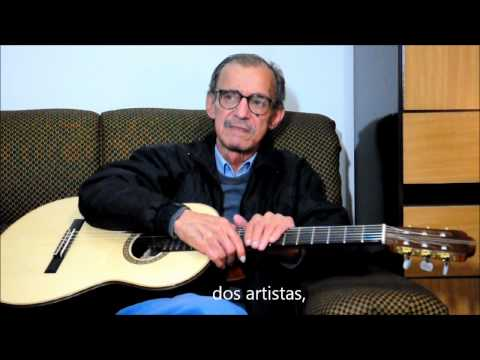 Mestre Gamela maior violonista brasileiro apoia Ana Queiroz 13007 Vereadora