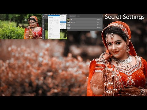 Best Way Of  Wedding Photo Color Grading In Photoshop By Editor Belal