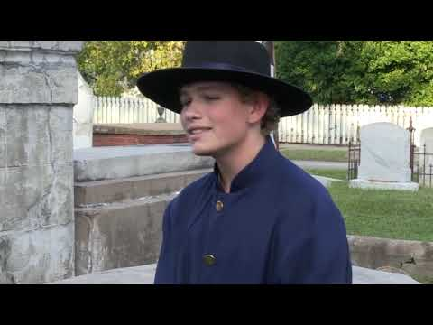 Kelly Bennett - Get a preview of upcoming cemetery tours in Biloxi tonight.