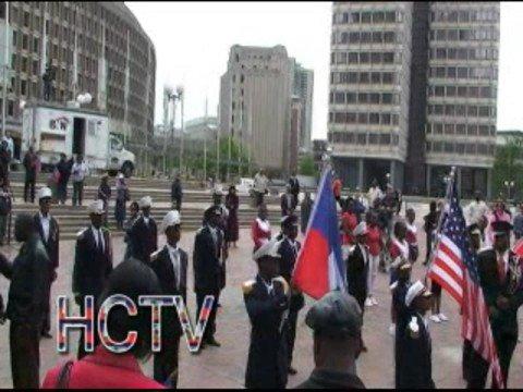 Haitian Flag Day in Boston