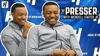 How Wendell Carter Jr. Got CATFISHED! | HoH Presser