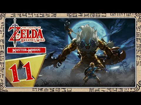 🔴 THE LEGEND OF ZELDA BREATH OF THE WILD [MASTER-MODE] Part 11: