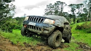 jeep grand cherokee wj mud run