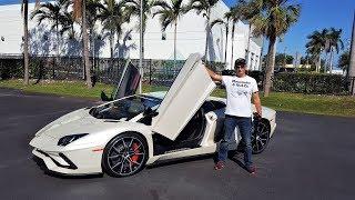Lamborghini Aventador S LP740-4 LOUD BEAST RIDE Acceleration Revs Interior at lamborghini Miami