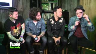 "Fall Out Boy Talk ""Save Rock & Roll"" & Elton John at SXSW 2013"