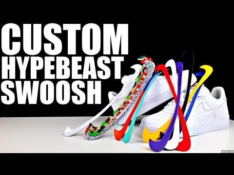 "CUSTOM ""ALL STAR"" NIKE SWOOSH AF1 !!"