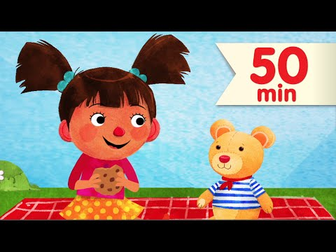 My Teddy Bear + More | Kids Songs & Nursery Rhymes | Super Simple Songs
