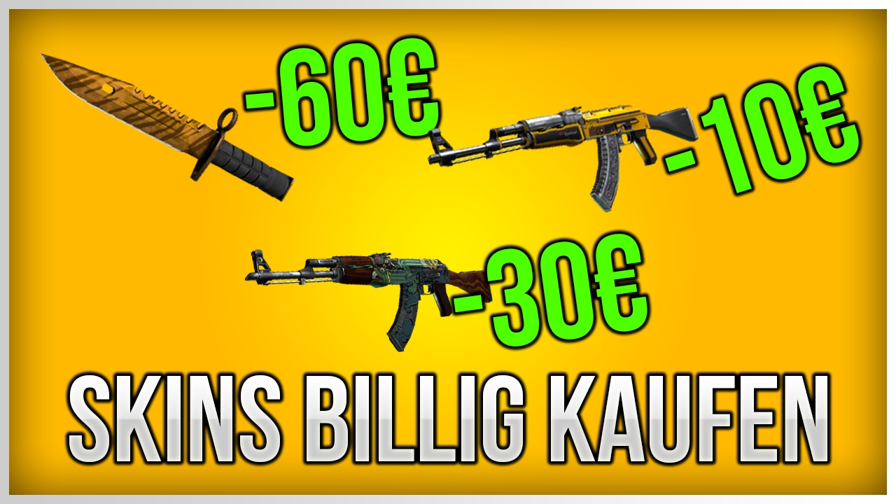 cs go skins g nstig kaufen tutorial cs go tipp youtube. Black Bedroom Furniture Sets. Home Design Ideas