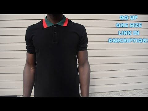 da53751d8c9 Gucci Polo Shirt Review (yeskicks.cn) - YouTube