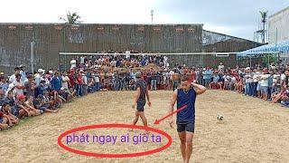 Campuchia vs viet nam.keo hẹn 2-2(set1)