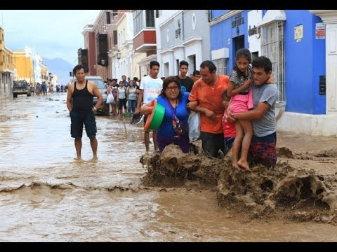 Floods and mudslides kill dozens in Peru - Current News March 2017