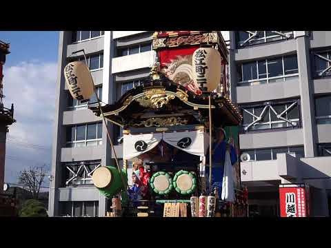 ミモレット1さん 2018年 川越祭り 市役所前山車揃い