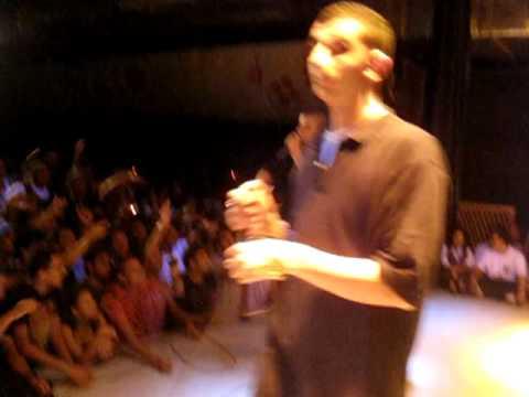EGY RAP SCHOOL - GENS NA3EM live @el sawy culture wheel 6-8-2009