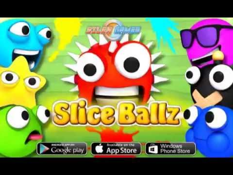 Slice Ballz Trailer (iOS, Android, Windows Phone, Web)