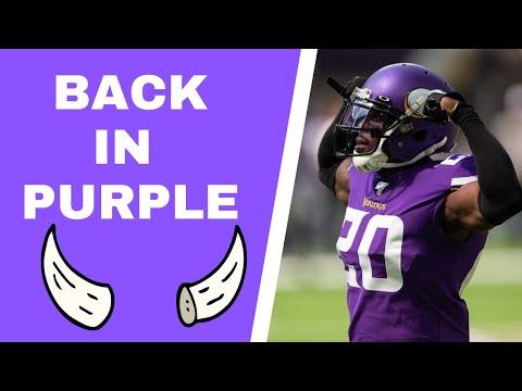 BREAKING: Mackensie Alexander signs back with Minnesota Vikings
