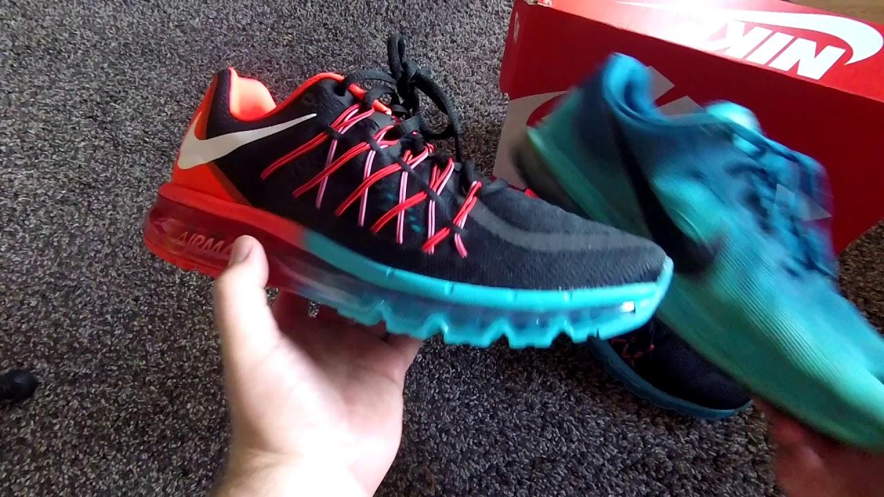 Nike Air Max 2015 Black/Orange/Blue/Red