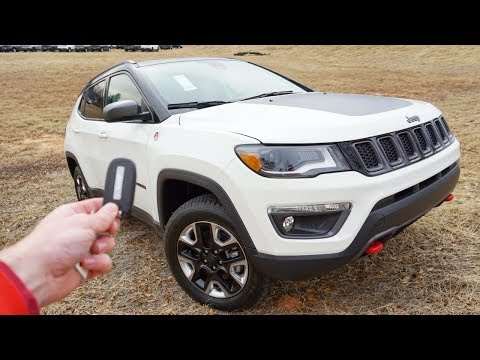 2018 Jeep Compass Trailhawk: Start Up, Walkaround, Test Drive and Review