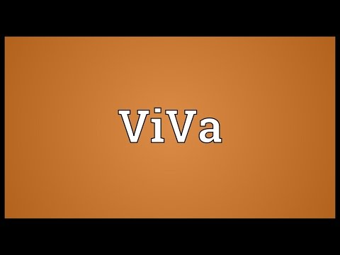 ViVa Meaning