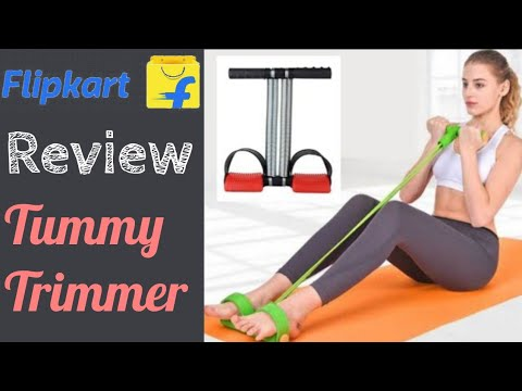 Review Tummy Trimmer In Hindi || Filpkart Shoping