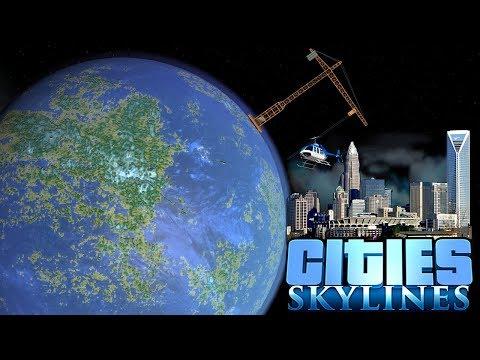 DRAINING THE OCEAN! - Cities Skylines [Los Vooperis] #12