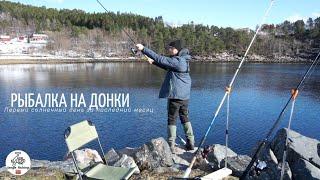 Рыбалка в Норвегии 2021 Рыбалка на донки с берега Норвегия Рыбалка Камбала