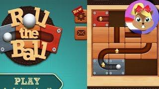ROLL THE BALL App Nederlands - Logisch spel - Bal uit het labyrint krijgen | Speel met mij ...