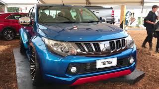 Download Video Mitsubishi launches two wild Triton utes at Fieldays MP3 3GP MP4