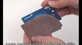 TÄRKEÄ: Korttisuoja - Helppo ja nopea tapa suojata maksukorttisi tiedot.