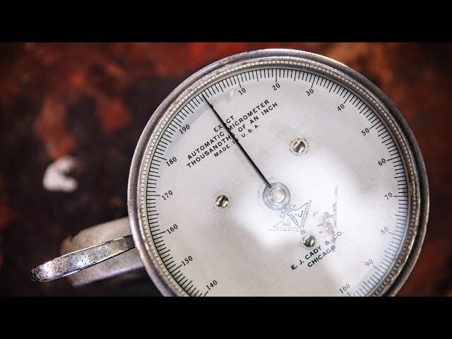 Adam Savage's Vintage Automatic Testing Micrometer