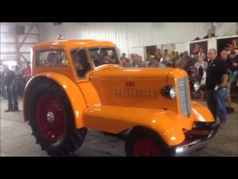 1938 Minneapolis-Moline UDLX Tractor Sold on Indiana Auction for $142,500