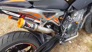 2019 |Ultimate exhaust sound ktm duke 790 |Austin racing, arrow, leo vince, akrapovic |RIDEMOTO