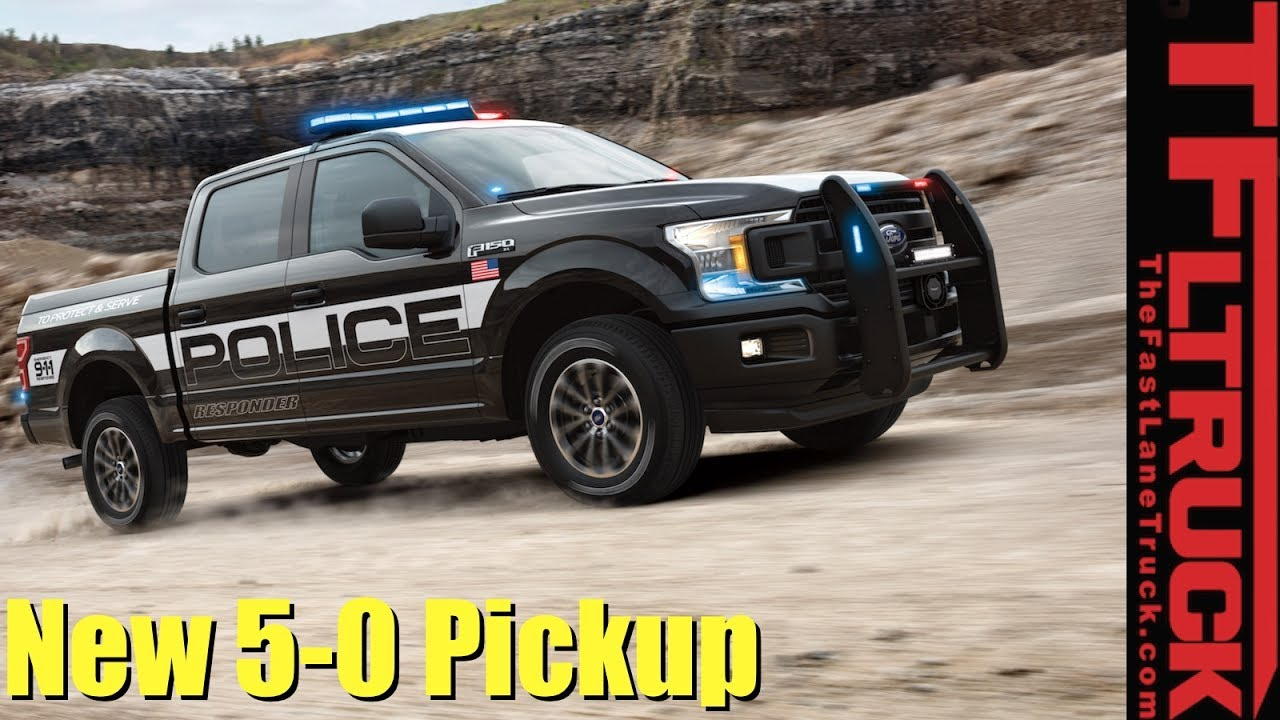 How Fast is the First Ever Police Pursuit-Rated Pickup?