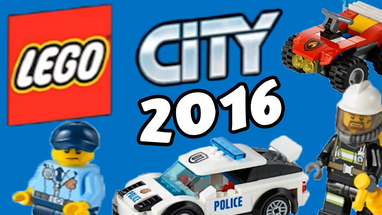 LEGO City 2016 sets pictures - YouTube