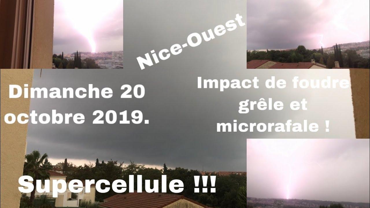 Download Temps instable s. 1 ép. 08 : orage fort supercellulaire microrafale+grêle du dimanche 20/10/2019.