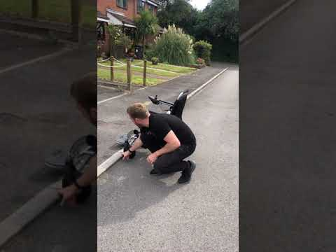 A refresh on taking curbs safely, and in the correct way.