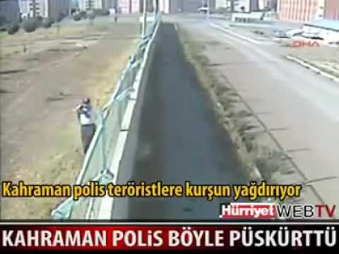 5 PKK Terrorist vs 1 Turkish Police
